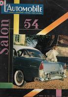 Revue Ancienne L'Automobile Salon De L'Automobile 1954 - Auto/Motorrad