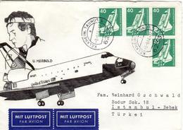 D+ Deutschland 1975 Mi 850 Ulf Merbold / Spacelab (UNIKAT / ÙNICO / PIÉCE UNIQUE / JEDINEČNÝ) - BRD