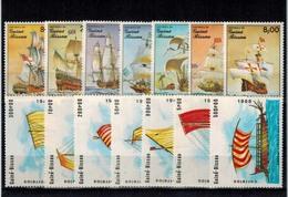 MVS-31052019-0005  MINT ¤ GUINEE BISSAU 1985 + 1988 KOMPL. SET ¤ SHIPS - - Maritiem