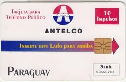 Paraguay Antelco 10impulsos - Paraguay