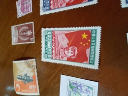 CINA MAO E GRANDE MURAGLIA - Stamps