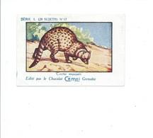 Civette Musquée Chocolat Cémoi Série L N° 17 Bien - Trade Cards