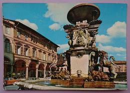 FAENZA (Ravenna) - PIAZZA DELLA LIBERTA' E FONTANA MONUMENTALE Vg - Faenza