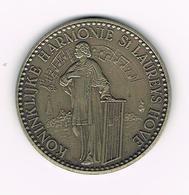 // PENNING HOVE KONINKLIJKE HARMONIE ST. LAUREYS - 100 LAUREYSKENS  1982 - 3000 EX. - Jetons De Communes