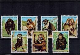 MDA-31052019-0018  MINT ¤ GUINEE BISSAU  1983 KOMPL. SET ¤ APES - Apen
