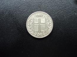 ISLANDE : 25 AURAR   1957    KM 11      TTB+ - Islandia