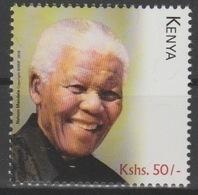 Kenya Kenia 2018 Mi. ? Stamp Joint Issue PAN African Postal Union Nelson Mandela Madiba 100 Years - Kenya (1963-...)