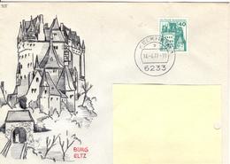 D+ Deutschland 1977 Mi 915 Burg Eltz (UNIKAT / ÙNICO / PIÉCE UNIQUE / JEDINEČNÝ) - [7] Repubblica Federale