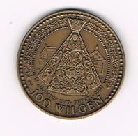 // PENNING DUFFEL  100  WILGEN  1983 - 3000 EX. - Jetons De Communes