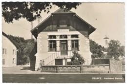 CPMS N/b CHANCY Ancienne Mairie Edit: Paul Lebet Genève - GE Genève