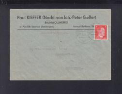 Besetzung Luxemburg Brief 1944 Bettborn Nach Echternach - Occupazione 1938 – 45