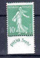 310519). TIMBRE ..FRANCE   .numéro PHENA Charnière - Autres