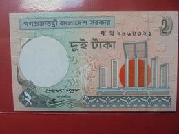 BANGLADESH 2 TAKA 2009 PEU CIRCULER/NEUF - Bangladesh