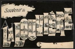 Postcard / CPA / La Louvière / Souvenir De La Louvière / 1905 / 2 Scans / Edit. Vve Falise - La Louvière
