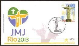Vatican Vatikaan 2013 Yvertn° RIO JMJ FDC (°) Oblitéré Used - FDC