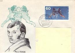 D+ Deutschland 1977 Mi 940 Philipp Otto Runge (UNIKAT / ÙNICO / PIÉCE UNIQUE / JEDINEČNÝ) - BRD