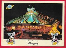 CARTOLINA VG FRANCIA - DISNEYLAND PARIS - Space Mountain - Topolino Mickey Mouse - 10 X 15 - ANN. 19?? - Disneyland