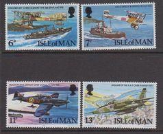 Isle Of Man 1978 Royal Air Force 4v ** Mnh (42918N) - Man (Eiland)