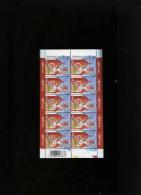 Belgie 2003 Nr 3210 Sinterklaas Saint-Nicolas Volledig Vel Plaatnummer Numero De Planche 1 - Hojas Completas