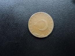 TURQUIE : 5 KURUS   1958    KM 890.1     TTB - Türkei
