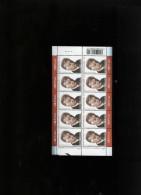 Belgie 2003 Nr 3221 Maurice GILLIAM  Volledig Vel Plaatnummer Numero De Planche 4 - Hojas Completas