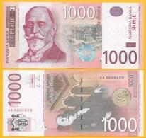 Serbia 1000 Dinara P-60a 2011 UNC Banknote - Serbia