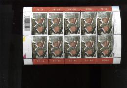 Belgie 2003 3201 Dynastie Albert II Boudewijn Full Sheet Plaatnummer 1 - Hojas