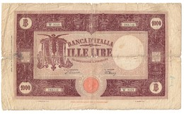 Italy 1000 Lire 19/05/1947 - [ 2] 1946-… : Républic