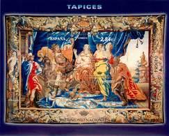 ESPAÑA 4652 HOJA BLOQUE PATRIMONIO NACIONAL TAPICES  AÑO 2011 - 1931-Oggi: 2. Rep. - ... Juan Carlos I