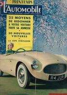 Revue Ancienne L'Automobile 1954 N° 96  Spécial Printemps1954 - Auto/Motorrad