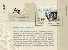 ESPAÑA 4650 HOJA BLOQUE CINE ESPAÑOL PREMIOS GOYA  AÑO 2011 - 2011-... Nuevos & Fijasellos