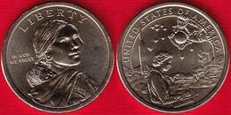 "USA 1 Dollar 2019 P Mint ""Native American - Space Program"" UNC - 2000-…: Sacagawea"