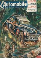 Revue Ancienne L'Automobile 1951 N° 58  Les Raids Africains  1951 - Auto/Motorrad