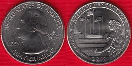 "USA Quarter (1/4 Dollar) 2019 P Mint ""American Memorial Park, NMI"" UNC - 2010-...: National Parks"