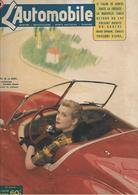 Revue Ancienne L'Automobile 1951 N° 60  Appel De La Route...la Charmante Danielle Godet Prend Le Volant  1951 - Auto/Motorrad