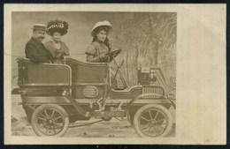 Surréalisme - Carte Photo Ancienne - Photo Montage - VOITURE - Fotografia