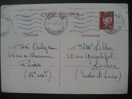 Frankreich/ France- Carte Postale Ganzsache - Enteros Postales