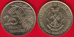 Guinea 25 Francs Guineens 1987 Km#60 UNC - Guinée