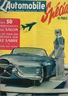 Revue Ancienne L'Automobile 1951 N° 67 Spécial Les 50 Nouveautés Du Salon1951 - Auto/Motorrad