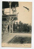 51 REIMS Natation Saut Plongeon Du Plongeoir De 110 Metres Pscine Au College D'Athletes  1910  D09 2019 - Reims
