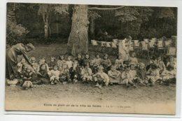 51 REIMS Le Gouter Des Petits Enfants Ecole De Plein Air De La Ville De Reims   1922 écrite Par Fillette   Vo  D09 2019 - Reims