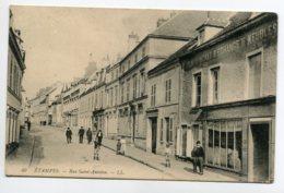 91 ETAMPES Commerce De Meubles Rue Saint Antoine LL 40  écrite 1917 Voir Dos    D09 2019 - Etampes