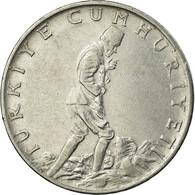 Monnaie, Turquie, 2-1/2 Lira, 1973, TTB, Stainless Steel, KM:893.2 - Turquie