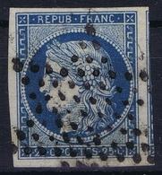 France Yv 4  Etoile Signed/ Signé/signiert/ Approvato  Belles Marges - 1849-1850 Cérès