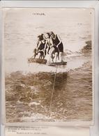 MR AND MRS CHARLES HESLER MISS BREDA MERCEREAU OD RIDGEWOOD SAN FRANCISCO BAY 25*20 CM Fonds Victor FORBIN 1864-1947 - Personalidades Famosas