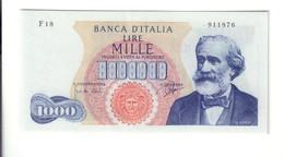 1000 LIRE VERDI I° TIPO 05 07 1963 N.C. Sup  Naturale LOTTO 2523 - [ 2] 1946-… : Repubblica