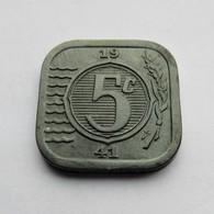 Nederland, 5 Cents, 1941 - [ 3] 1815-… : Koninkrijk Der Nederlanden