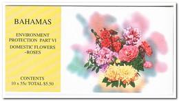 Bahama's 1998, Postfris MNH, Flowers, Roses ( Booklet, Carnet ) - Bahama's (1973-...)