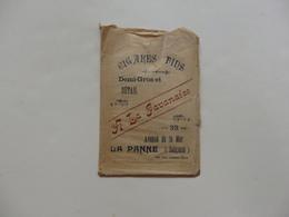 """Sac """"A La Javanaise"""" Avenue De La Mer à La Panne Belgique. - Old Paper"""