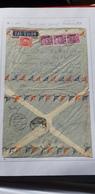 Frankreich/ France- Flugpost Beleg Nach Südtirol Von 1949, Brief Gänzlich Geöffnet - Poste Aérienne